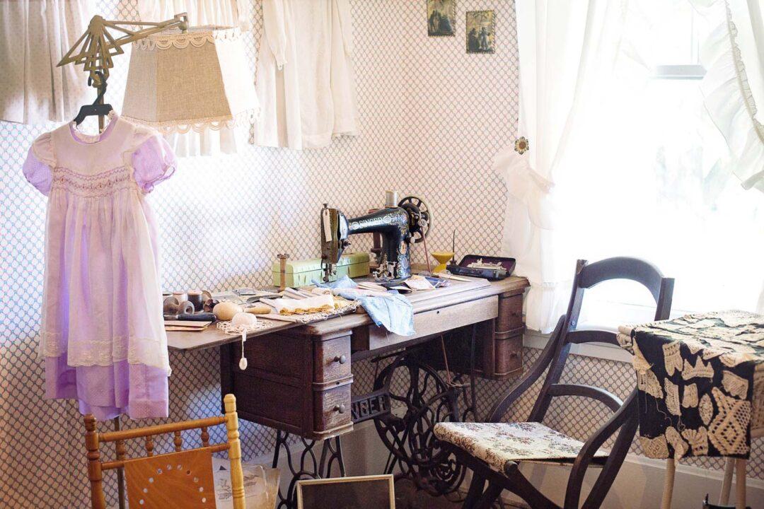 Cómo crear un cuarto de costura